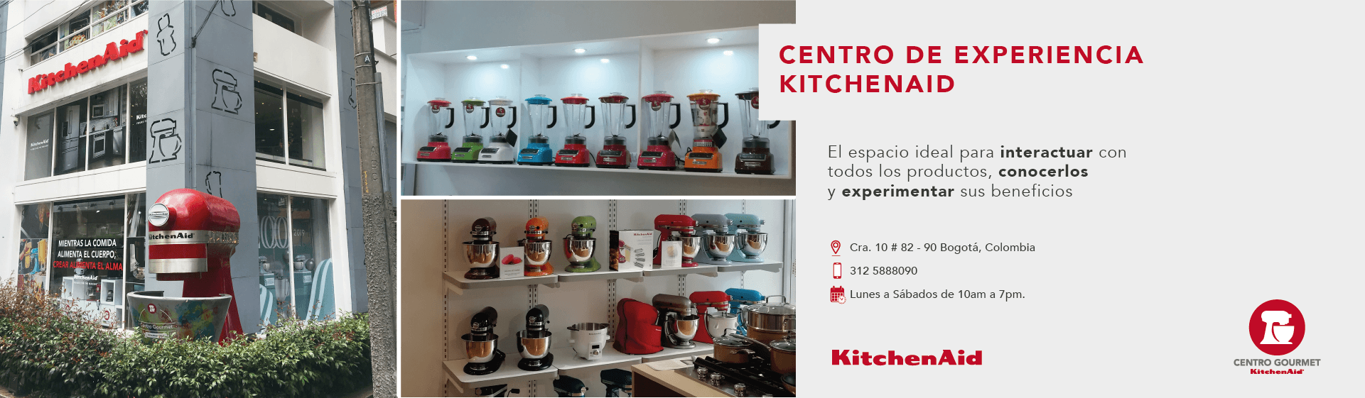 Centro de experencia KitchenAid
